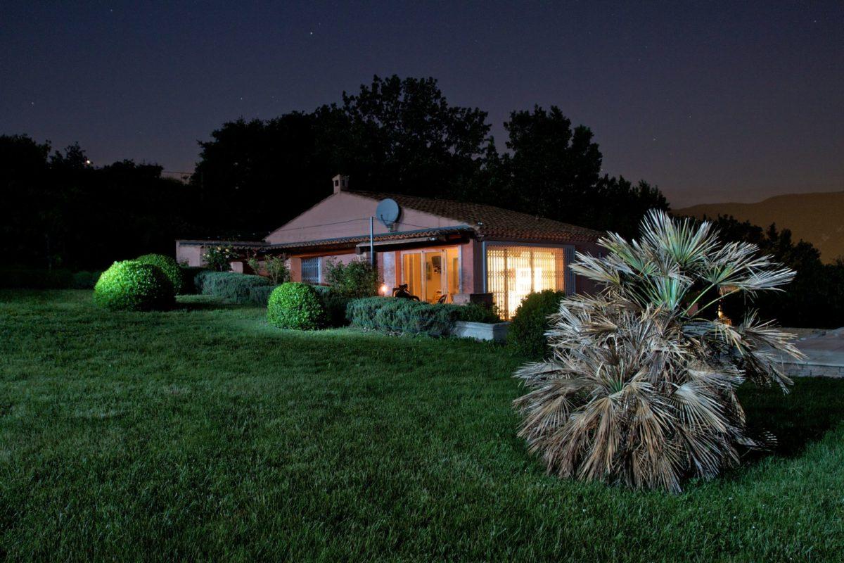 Villa Lavande - nuit d'été
