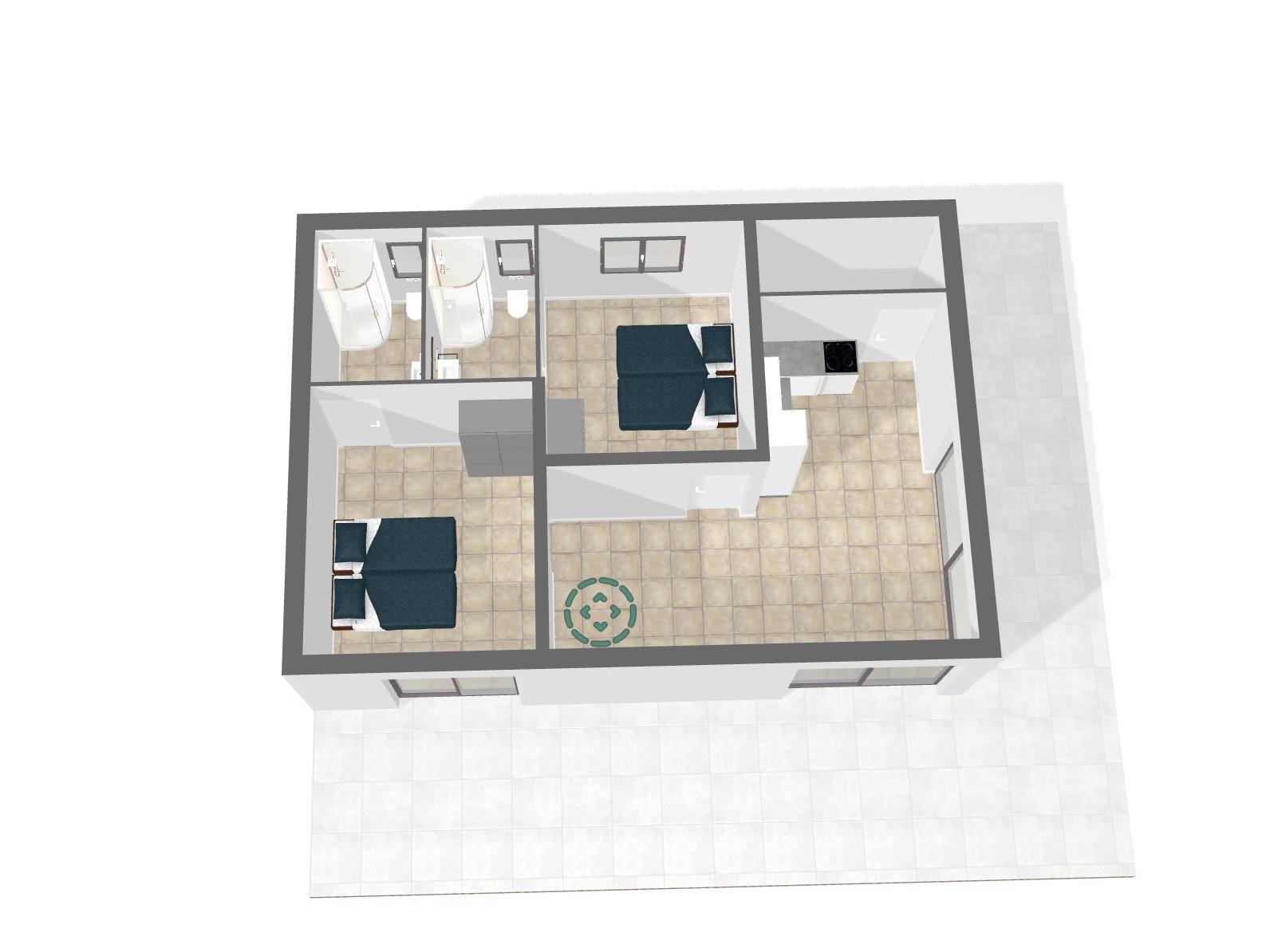 Plan de la Villa Lavande