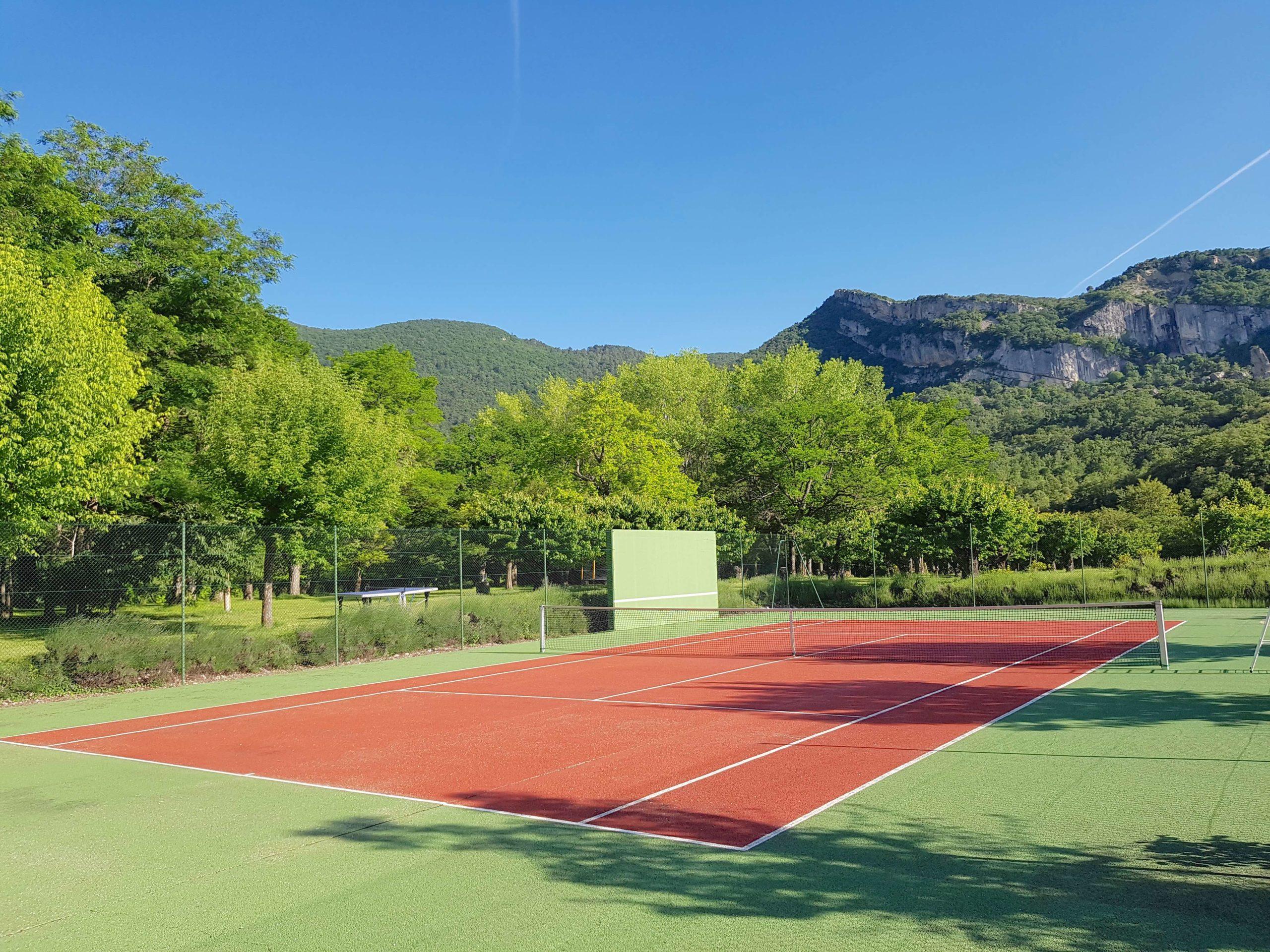 Tennis après-midi d'été